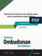 Soutien Par Les Pairs Pour Les Vétérans Ayant Subi Un Traumatisme Sexuel Militaire