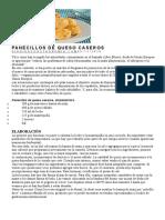 PANECILLOS DE QUESO CASEROS