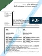 NBR NM-IsO 3611 (Micrometro)