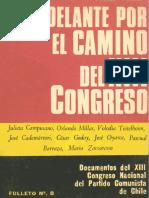 Campusano, Julieta - Congreso XIII