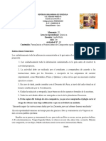 Actividad nro III TERCER MOMENTO 3ER AÑO BIOLOGIA