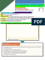Semana 8-Guía de Trabajo Para El Estudiante de Quinto Grado