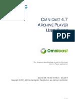 En.omnicast Archive Player User Guide 4.7
