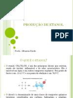 AULA PRODUÇÃO DE ETANOL