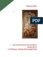 Pascua de 2021 Predicaciones. D Uribe PDF