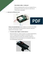 Sensores de velocidad lineal y angular