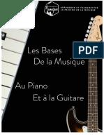 Les Bases de la Musique au Piano & à la Guitare