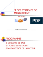 Formation Audit 14001