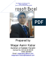 Basic of Excel