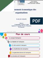 Séance 8-Cours environnement économique des organisations