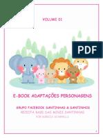 E-BOOK personagens