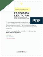 Fichas de trabajo_FPalabra_Leer con los sentidos