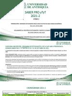 Etapa2 Unidad Académica Saber Pro y Tyt 2021-2