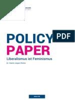 Liberalismus Ist Feminismus