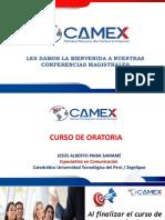 Sesión 5 Curso de Oratoria Profesional CAMEX 2020