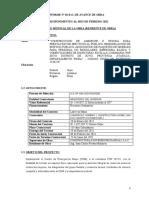 INFORME Nº 03 ABRIL INSTALACIONES ELECTRICAS SUYO