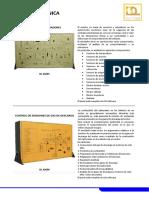 Panel Sensor y Actuador