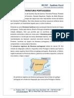 3- TEORIA DA LITERATURA PORTUGUESA