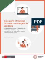 Guía sobre el trabajo durante la emergencia sanitaria_VF 26.05