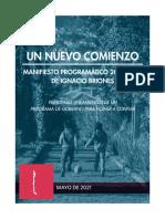 Plan de Gobierno BRIONES 2022
