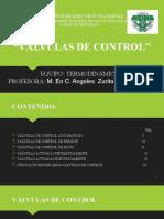 VÁLVULAS DE CONTROL (1)