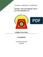 Monografía Polimeros Primero c