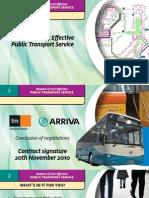modern & cost effective - public transport service