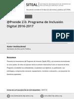 PROGRAMA DE INCLUSION DIGITAL