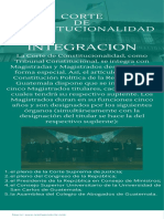 INFOGRAFIA SOBRE LA CORTE DE CONSTITUCIONALIDAD