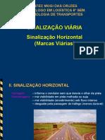 Aula 05_11 TEC TRANSP Sinalização Viária Marca Longitudinal e transversal