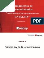 F. de Termodinamica C13 Aplicación Primera Ley Entalpia (1)