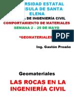 2. Rocas en La Ing. Civil