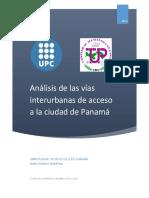 Analisi Vias interurbanas Ciudad de Panamá - PFC  -  Marc Velasco Soldevila (1)