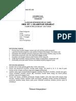 Soal Akuntansi Persediaan XI AK