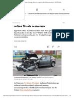 Viersen_ Polizei-Fahrzeuge stoßen auf Weg zum selben Einsatz zusammen - DER SPIEGEL