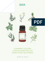 BAYA - Comment utiliser 7 huiles essentielles pour votre quotidien