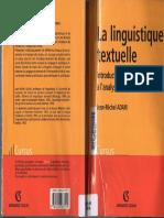 La linguistique textuelle, introduction à lanalyse textuelle du discours_ J.M. ADAM