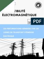 Perturbations Générées Par Les Lignes de Transport d'Énergie
