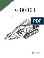 Ba b0001 Cat374fl挖掘机安装说明书