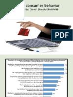 Online consumer Behavior