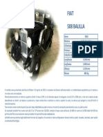 FIAT BALILLA 508 1932 specs