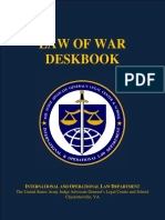 Law of War - Deskbook