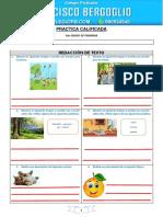 PRACTICA CALIFICADA_Redacción - 2do Grado
