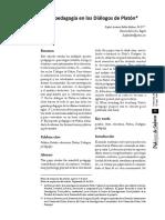 La+Pedagogía+en+Los+Diálogos+de+Platon.+Rafael+Ballén