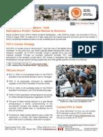 PDM-H Marketplace Profile