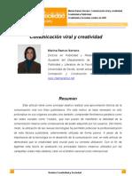Creatividad y Sociedad. Comunicacion viral y creatividad