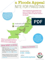 Pakistan Flood Poster