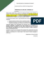 8. Hoja Informativa _Entrega de Informes 2021