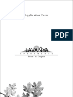 Lavanya Application form