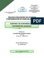 Rapport Tp Si&Bd